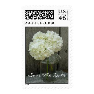 Casando reserva la fecha - Hydrangeas en un tarro Envio