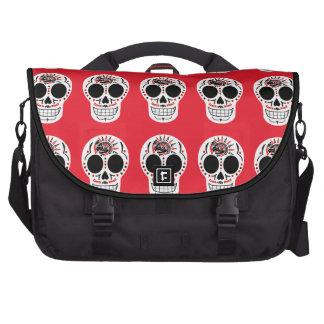 CasaQ Aztec Eagle Calavera Computer Bag