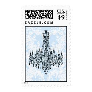 CASAR a le AZUL Chandelier Stamp Envio