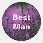 Casar al pegatina (del mejor hombre)