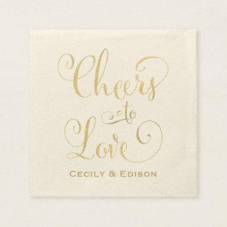 Casar alegrías de las servilletas el | al diseño servilleta desechable