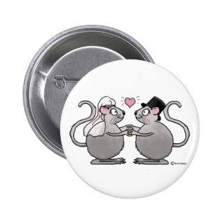 Casar apenas pares casados del ratón de los ratone pins