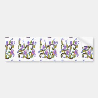 Casar diseño etiqueta de parachoque