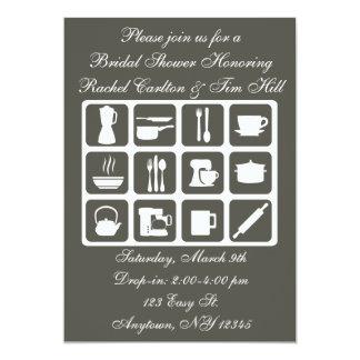 Casar invitaciones nupciales de la ducha invitación personalizada