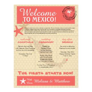 Casar la letra agradable para México Membretes Personalizados
