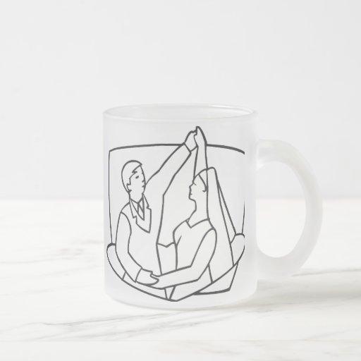 Casar los sellos 47 taza de cristal
