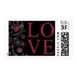 Casar rojo de rubíes del diseño creativo del amor sellos