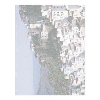 Casarea, provincia de Málaga, España Europa Membrete A Diseño