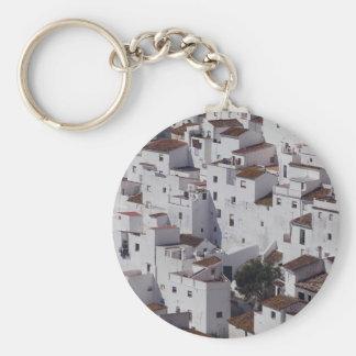Casares, Malaga Province, Spain Keychain