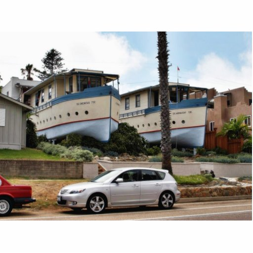 Casas barco de Encinitas Esculturas Fotograficas