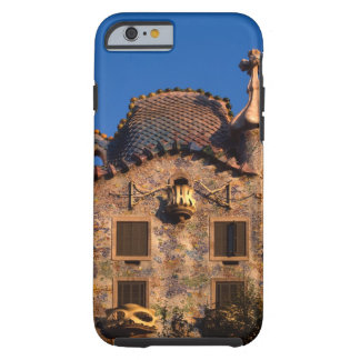 Casas Batilo, arquitectura de Gaudi, Barcelona, Funda Para iPhone 6 Tough