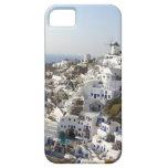 Casas blancas en Santorini iPhone 5 Case-Mate Protector