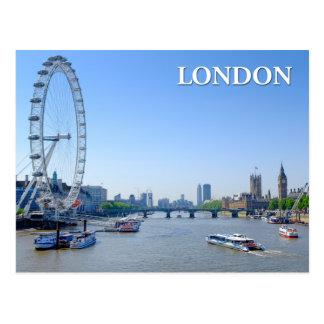 Casas BRITÁNICAS de Londres, Inglaterra de la Tarjetas Postales