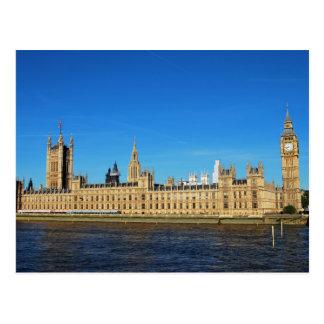 Casas británicas del parlamento y de Big Ben Postal