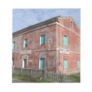 Casas Cantoniera Bloc De Notas