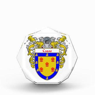 Casas Coat of Arms Family Crest Award