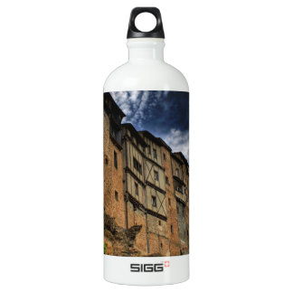 Casas colgadas in Frias, Spain Water Bottle