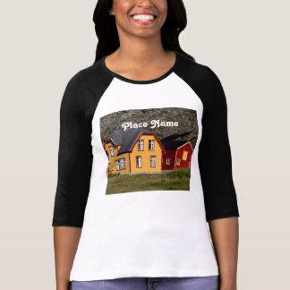 Casas coloridas de Noruega Camiseta
