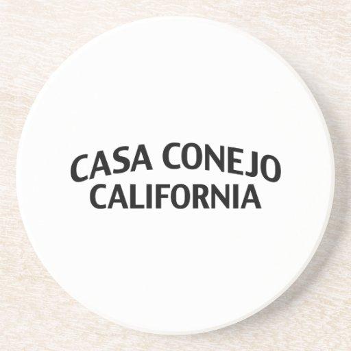 Casas Conejo California Posavasos Manualidades