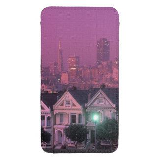 Casas de fila en la puesta del sol en San Funda Acolchada Para Galaxy S4