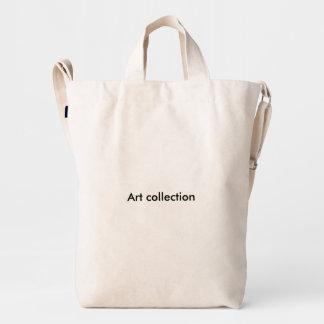 casas de la colección de arte bolsa de lona duck