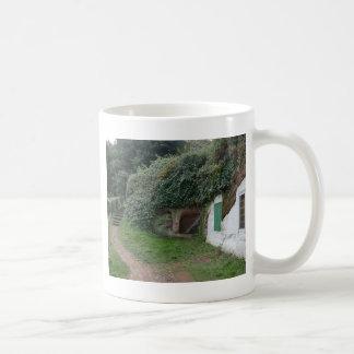 Casas de la roca del borde de Kinver Taza De Café