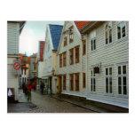 Casas de madera de Noruega, Bergen Postal