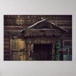 Casas de madera siberianas (proyecto por vladstudi impresiones