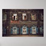 Casas de madera siberianas (proyecto por vladstudi poster