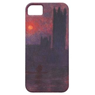 Casas de Monet del parlamento en el caso del iPhon iPhone 5 Case-Mate Carcasa