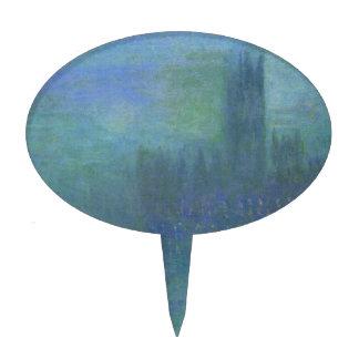Casas de Parlilament, efecto de niebla de Claude Figuras De Tarta
