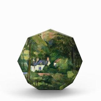 Casas de Paul Cezanne- en el verdor