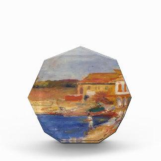 Casas de Pedro-Auguste Renoir- por el mar