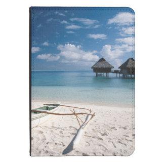 Casas de planta baja de la playa Motu Toopua Funda De Kindle