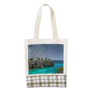 Casas de playa bolsa tote zazzle HEART