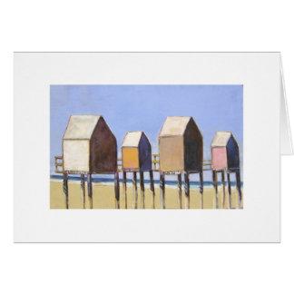Casas de playa felicitación
