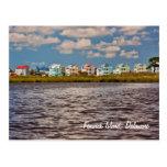 Casas de playa postales