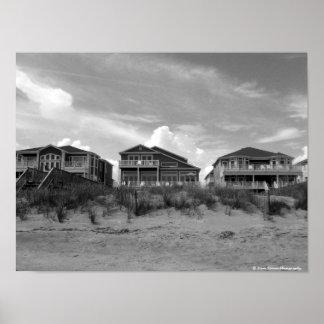 Casas de playa póster