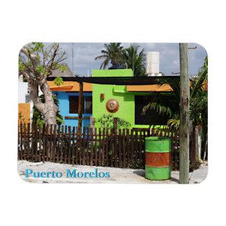 Casas de Puerto Morelos Imanes Rectangulares