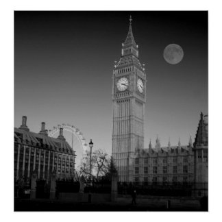 Casas del bw del parlamento poster