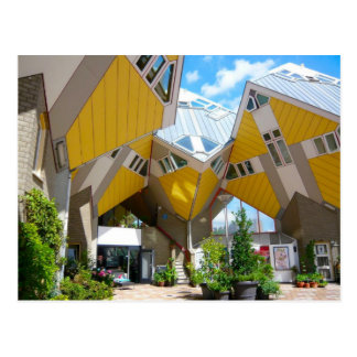 Casas del cubo Rotterdam Blaak Postales