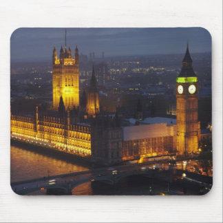 Casas del parlamento, Big Ben, Westminster Tapetes De Raton