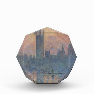 Casas del parlamento en invierno de Claude Monet