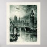 Casas del parlamento, Londres Impresiones