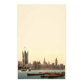 Casas del parlamento, Londres, Inglaterra Papeleria De Diseño