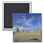Casas del parlamento, Londres, Inglaterra, Reino U Imán De Nevera