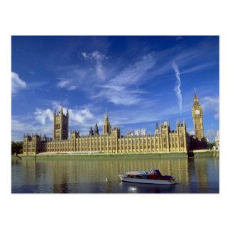 Casas del parlamento Londres Inglaterra Reino U Tarjeta Postal