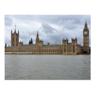 Casas del parlamento Londres Inglaterra Tarjetas Postales