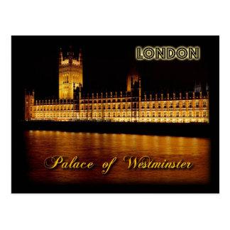 Casas del parlamento, Londres Tarjeta Postal