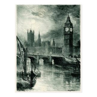 Casas del parlamento, Londres Tarjetas Postales